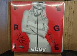 Nouveau Fergie Double Dutchess Lp Exclusive Autographié Vinyl Bep Manche Rouge