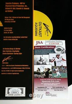 Outkast Signe Aquemini Album 3x Lp Record Andre 3000 Vinyl Autographed Jsa Coa