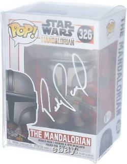 Pedro Pascal Star Wars Le Mandalorien Autographié #326 Funko Pop