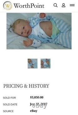 Ping Lau Sansa Boy Par Réincarné Doves Nursery Signée Par L'artiste