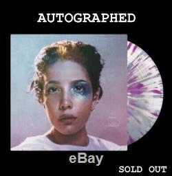 Pre Commande Autographed Manic (limited Splatter Vinyl Lp) Halsey Signe