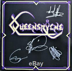 Queensryche 1er Ep Signe Autographed Record De 4 Vinyl