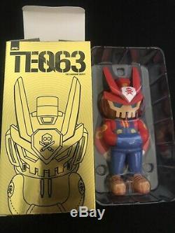 Quiccs Super Teq Bros Mario & Luigi Teq63 6 Vinyl Figure Martienne Toy Signé Set