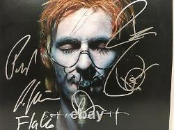 Rammstein Signé Autographié Sehnsucht Vinyle Album Till Lindemann Richard ++ Coa