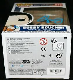 Rare Adam Sandler Signé Bobby Boucher Waterboy Funko Pop Psa Jsa