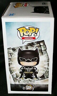 Rare Ben Affleck Signé Batman Justice League Funko Pop Jsa Psa Bas