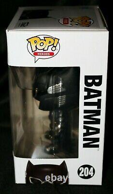 Rare Ben Affleck Signé Batman Justice League Funko Pop Psa Jsa Bas
