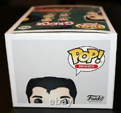 Rare John Travolta Signé Danny Zuko Grease Autograph Funko Pop Psa Jsa Bas