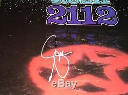 Rare Lee Geddy Signé Autographié Rush 2112 Vinyl Record Bas Coa Livraison Gratuite