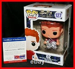 Rare Seth Green Signé Oz Buffy The Vampire Slayer Funko Pop Psa Coa