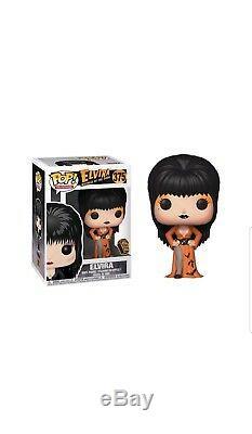 Rare Signé Funko Pop # 375 Empire Spooky Exclusif Elvira Autographed Le 1500