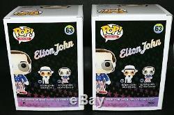 Rare Taron Egerton Signé Autographié Elton John Funko Pop Exclusif Psa Jsa