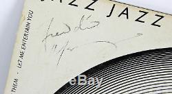 Reine Freddie Mercury Jazz Authentique Signé Album Cover Vinyliques Bas # A39150