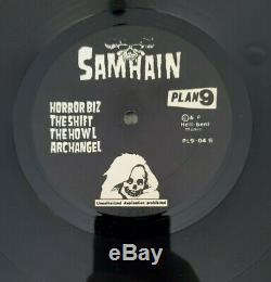 Samhain Initium Signé 1er Presse En Vinyle Grands Anneaux Hellbent Labels Orig Insérer