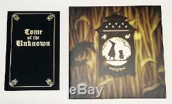 Sdcc 2016 Over The Garden Wall Signe Vinyle + Tome Of The Unknown Comic Book Con