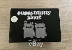 Signé Bimtoy Tiny Ghost Chiots Kitty Argent Set Limited Edition Nycc 2018