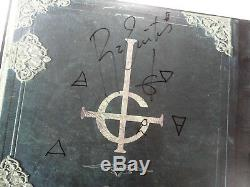 Signé Fantôme Early Rituels Lp Blue Vinyl Papa Émérite II Nom Complet Jsa Ff17720