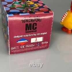 Signé Ron Anglais MC Supersized 2004 Nearpoint Toys