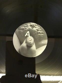Signé-oisifs-vinyle Noir Repressed Lp-brutalisme-entièrement Dédicacée-menthe / Unplayed