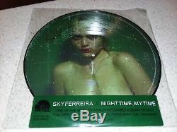Sky Ferreira Nocturnes, My Time Lp Vert Vinyle Signé Picture Disc CD Sac Fourre-tout