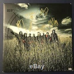 Slipknot Band Signé Album Vinyl Record Lp Autographié Corey Taylor Rare Coa