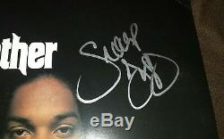 Snoop Dogg Signe Autographed Tha Doggfather Album Vinyl Lp Dr. Dre Tupac Withcoa