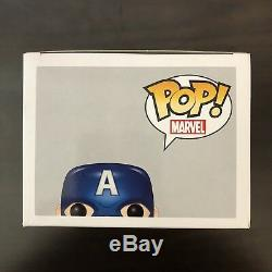 Stan Lee Signé Funko Pop Captain America Avengers 2 Autographié Bas Beckett Coa