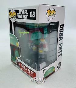 Star Wars Boba Fett Funko Pop Autographié Par Jeremy Bulloch
