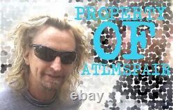 Stone Temple Pilots Scott Weiland Signé Autographed Purple Vinyl Proof