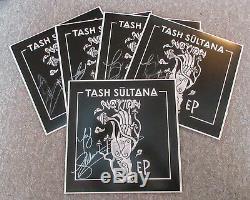 Tash Sultana Signé Autographié Album Vinyle Ep Notion Proof Flow State Jsa Coa