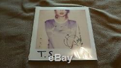 Taylor Swift 1989 Pink Vinyl Lp Big Machine Records Signés Black Friday Rare