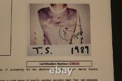 Taylor Swift 1989 Signé Nouvel Album Vinyle Avec Jsa Coa Z45320 Lettre D'authenticité
