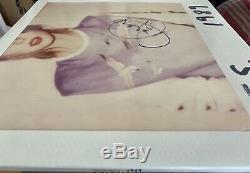 Taylor Swift Signé 1989 Vinyle Jsa Loa Rare Auto 1 De 2