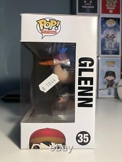 Télévision Pop Funko Signée Le Glenn N°35 Déplacement De La Guerre Figure Vinyle Signée