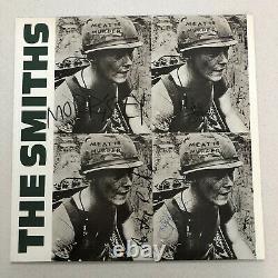 The Smiths Meat Is Assassiner Signé Lp Vinyle Originale