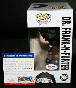Tim Curry Signé Rocky Horror Picture Show Dr. Frank-n-furter Funko Pop Psa