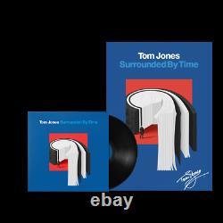 Tom Jones Entouré Par Le Temps 12 Vinyle Signé À La Main Art Nouveau Et Scellé