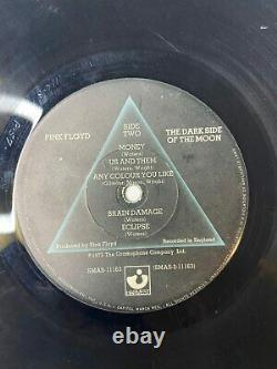 Van Halen Diver Down Signé Lp Original Vinyl All 4 Eddie Very Rare Autographié