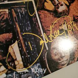 Van Halen Signe L'album Vinyle Fair Warning 1981 Eddie David Alex Michael