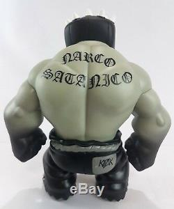 Vintage Frank Kozik Muttpop El Brujo 666 Narco Satanico Tequila 2006 Signé